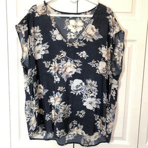 Old Navy Lightweight Floral Top